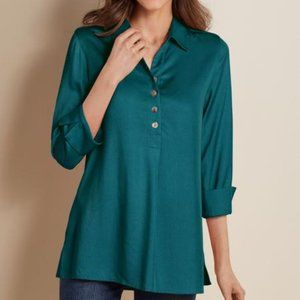 Soft Surroundings Hutton Tencel Popover